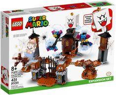 Lego Mario, Lego Super Mario, Legos, Construction Lego, Van Lego, King Boo, Free Lego, Lego Harry Potter, Lego Friends