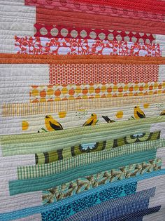 Quilt would be neat with a water to sunset color scheme