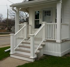 exterior porch double columns | img ID: 9000-3772-00 | Ideas for the ...