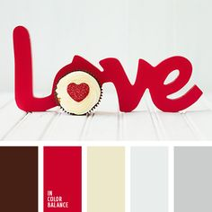 February color palette: Bright red is the color of passion and love. Use this palette for evening outfit and you'll be irresistibl. Red Colour Palette, Color Palate, Colour Schemes, Color Combos, Red Color, Color Harmony, Design Seeds, Colour Board, Color Theory