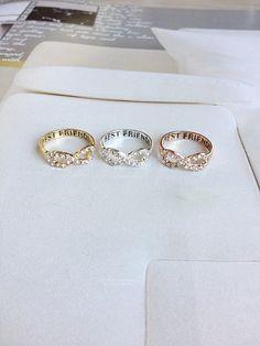 Best Friend Infinity Ring best friends infinity by Superbracelets, €8.60