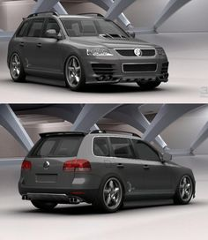 tuning of the VolksWagen Touareg ´02