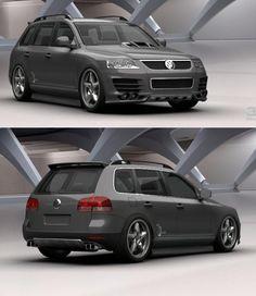Image For Volkswagen Touareg Tuned Car Wallpaper