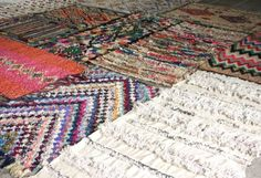 Tapis Handira vintage