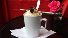 Enjoy a decadent hot chocolate at Choccywoccydoodah. Or find amazing hot chocolates elsewhere in London: http://www.timeout.com/london/food-and-drink/londons-best-hot-chocolates