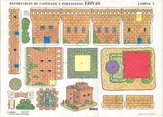 Resultado de imagen de castillos recortables para imprimir