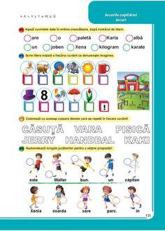 Clasa pregatitoare : Comunicare in limba romana - Clasa Pregatitoare Karate, Transportation, It Works, Map, School, Children, Young Children, Boys, Location Map