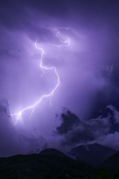 Free download of this photo: https://www.pexels.com/photo/purple-and-white-thunderstorm-at-nightime-110059/ #nature #sky #weather