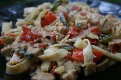 Recipe Shoebox: Cajun Chicken Pasta