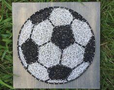 MADE TO ORDER String Art Soccer Ball Sign