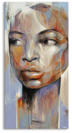 """Never Easy"", Fine Artist Portrait Painting, Artist Study with thanks to Artist Danny O' Connor, // Some art inspiration Pintura Graffiti, Art Amour, Art Visage, L'art Du Portrait, Art Et Illustration, Medical Illustration, Afro Art, African American Art, Art Design"