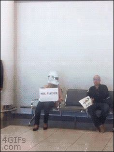 Glad You Made It Mr. Vader