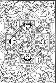 Turma Da Monica Anti StressAdult ColoringColoring PagesBookYarnsGardenAll