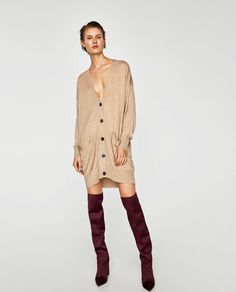 Image 1 of OVERSIZED CARDIGAN from Zara