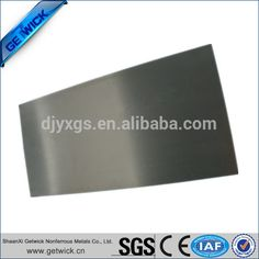 Polished ASTM B 760 99.95% W1 tungsten sheets made in China on sale