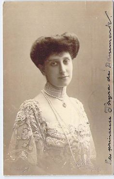 Princess Thyra of Denmark, daughter of King Frederick and Queen Louise.