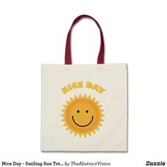 Our Summer tote bags are great for carrying around your school & office work, or other shopping purchases. Summer Tote Bags, Summer Gifts, Summer Of Love, Good Day, Reusable Tote Bags, Sun, Nice, Template, Shopping
