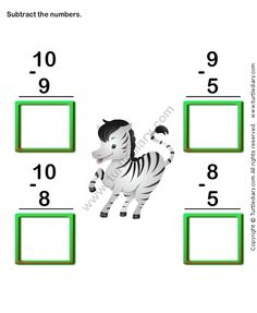 Check out Turtle Diary's large collection of Subtraction worksheets for kindergarten. Make learning fun and easy with these great learning tools. Preschool Assessment, Kindergarten Math Worksheets, School Worksheets, Math Activities, Subtraction Worksheets, Number Worksheets, Hindi Worksheets, Addition And Subtraction Practice, English Grammar For Kids