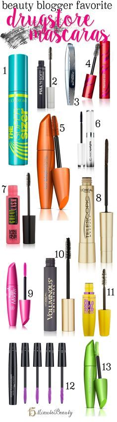 The Best Drugstore Mascaras According to Beauty Bloggers