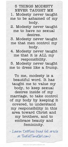 #Modesty Matters | Godliness | Ambassador of Christ | Simply Elegant | simplyelegantforyou.com