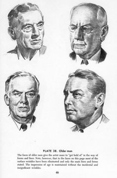Drawing The Head And Hands - Andrew Loomis Drawing People Faces, Drawing Heads, Guy Drawing, Portrait Sketches, Pencil Portrait, Art Sketches, Art Drawings, Andrew Loomis, Model Sketch