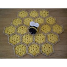 """Betty the Bumble Bee Security Blankie / Lovey This pattern is written over 6 A4 Pages, includes 12 colour pictures and has a """"Making Up"""" Section with diagrams. You would need to know how to do the following (Click to see a How-to Video) [Slip Knot][1] [Chain Stitch][2] [Single Crochet][3] [Double Crochet][5] [Slip Stitch][7] [Magic Circle][8] [Work in Continuous Rounds][9] [Work in the Round][10] [Increase][11] [Decrease][12] [See the whole """"Learn to Crochet Video Series][16] **Materials…"""