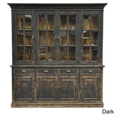 Winfrey Hutch Cabinet | Overstock.com Shopping - Great Deals on Kosas Collections Media/Bookshelves
