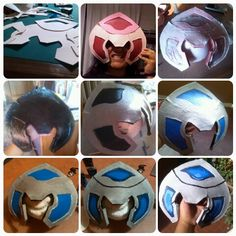 Runeguard Volibear - helmet - League of Legends - step by step - wip cosplay