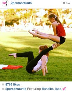 2 to 4 person acro stunts  dance love  pinterest  of