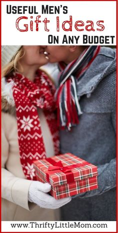 Useful Men's Gift Ideas For Any Budget. If you are looking for Christmas gifts for husband, Christmas gift ideas for boyfriend or even Christmas gift ideas for brothers, this post has a variety options ranging from $15-$100.
