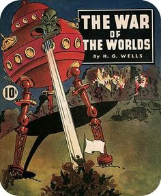 #vintage #book H.G. Wells 'War of the Worlds'
