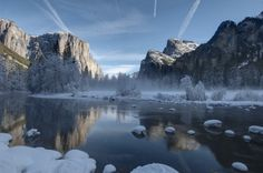 Yosemite park is just breathtaking in the early morning :-)