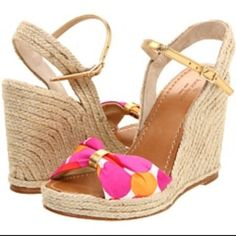 Kate Spade Candice Wedges Size 10.5