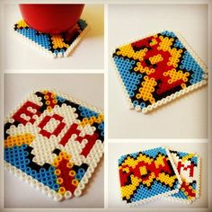 Your Childhood Lives On In Perler Beads: 40 Nerdy 8-Bit Patterns – Autostraddle