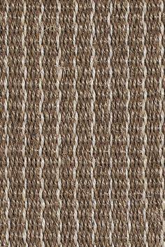 Heron Stripe sisal rug, by Merida.