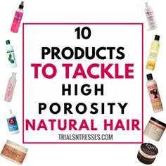 high porosity natural hair