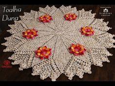 Tapete do vaso - Tapetes em crochês - YouTube