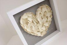 Wedding Gifts - 3D Wedding Heart Art Frame