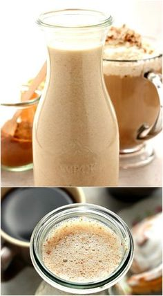 25 Yummy Homemade Coffee Creamer Recipes - Coffee Creamer - Ideas of Coffee Creamer - Cinnamon Roll Coffee Creamer Low Carb Coffee Creamer, Homemade Coffee Creamer, Coffee Cups, Coffee Art, Mocha Coffee Creamer Recipe, Natural Coffee Creamer, Coffee Brewer, Coffee Drinks, Coffee Tables