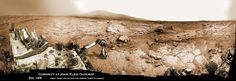 Three spectacular new panoramas give an eye-popping look at NASAs Mars rover Curiosity hard at work on the Red Planet. Each photo is a mosaic stitched together using more than ...