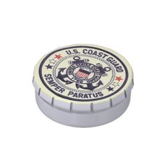 Shop United States Coast Guard Jelly Belly Candy Tin created by stanrail. Personalize it with photos & text or purchase as is! Jelly Bean Flavors, All Candy, Butter Popcorn, Candy Cakes, Toasted Marshmallow, Free Candy, Jelly Belly, Favorite Candy, Daiquiri