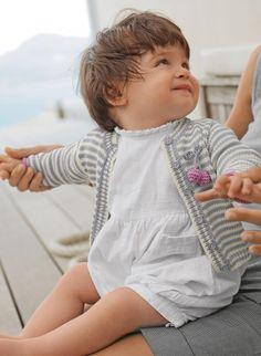 Mag. 162 - #06 - Striped jacket | Buy, yarn, buy yarn online, online, wool, knitting, crochet | Buy Online
