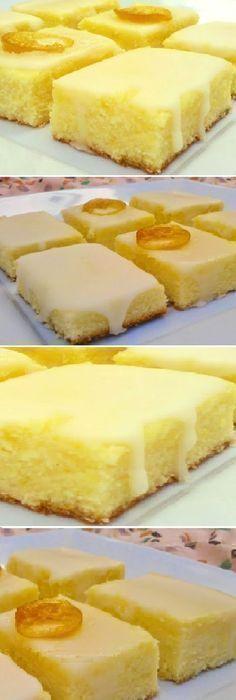 Cocina – Recetas y Consejos Lemon Desserts, Mini Desserts, Dessert Recipes, Cake Bars, Brownie Cake, Cake Brownies, Brownie Recipes, Sweet Recipes, Cookies Et Biscuits