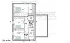 Realisatie | Thuis Best woningbouw |BEN woning Modern type C- verdieping. Eigen woning bouwen? www.thuisbest.be