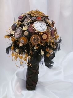 steampunk wedding decorations - Google Search