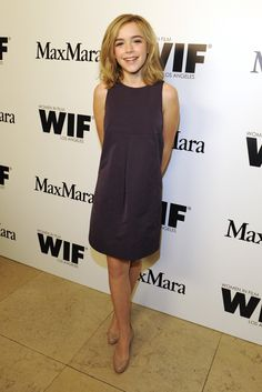 Kiernan Shipka at Women in Film's annual cocktail party.