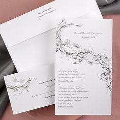 Silver Vines - Invitation