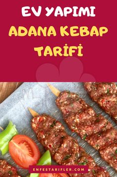 Kebab Recipes, Lunch Recipes, Salad Recipes, Cooking Recipes, Healthy Recipes, Adana Kebab Recipe, Tandoori Masala, Iftar, Wrap Sandwiches