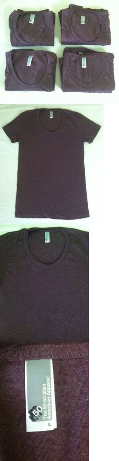 Shirts Tops 50990: Wholesale Lot Of 10 American Apparel Women S Bb301 Poly Cotton 50 50 T-Shirts -> BUY IT NOW ONLY: $59.95 on eBay!