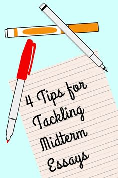 4 tips for tackling midterm essays ★·.·´¯`·.·★ follow @motivation2study for daily inspiration